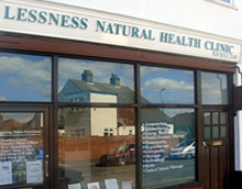 Facilities at Lessness Natural Health